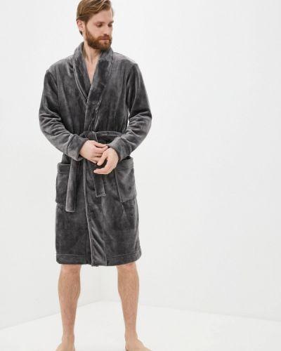 Серый домашний халат Mark Formelle