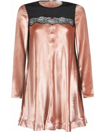 Платье шелковое из вискозы Red Valentino