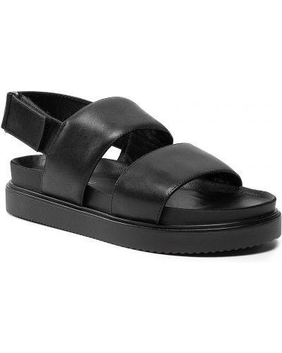 Czarne sandały na lato Vagabond