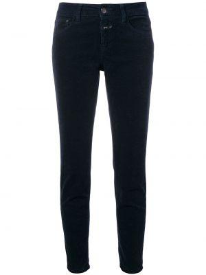 Хлопковые джинсы - синие Closed