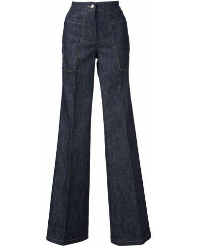 Пляжные расклешенные джинсы Derek Lam