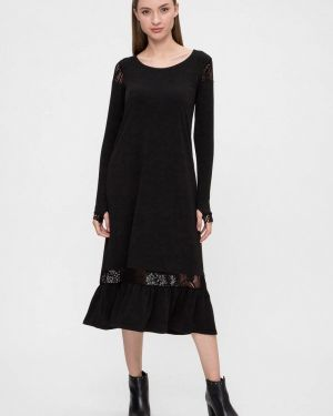 Платье - черное Vergans