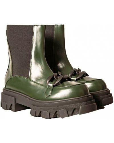 Zielone półbuty Stokton