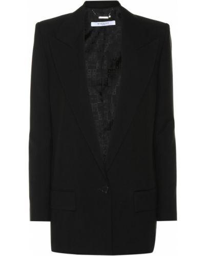 Классический пиджак черный вечерний Givenchy