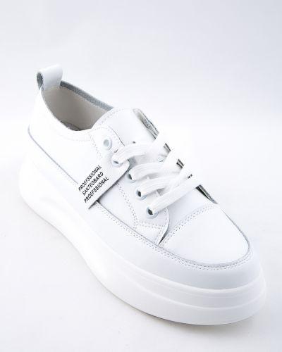Кожаные белые ботинки Farinni