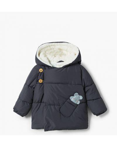 Куртка с подкладкой с капюшоном Mango Kids