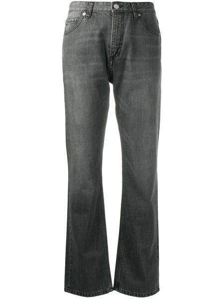 Прямые серые джинсы классические с карманами Victoria, Victoria Beckham