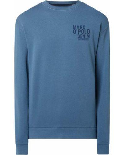 Bluza bawełniana - niebieska Marc O'polo Denim