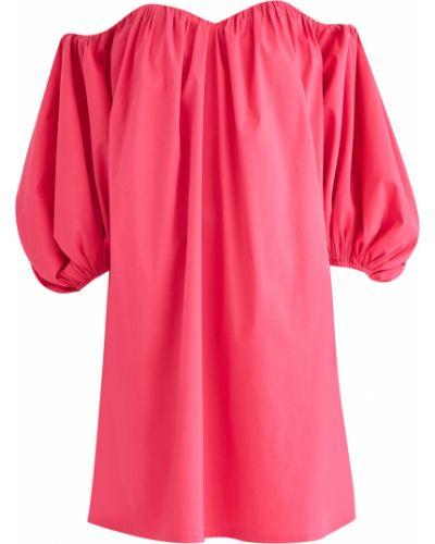 Платье мини со складками пышное A La Russe