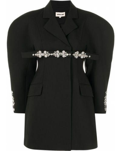 Czarna sukienka długa Shushu/tong
