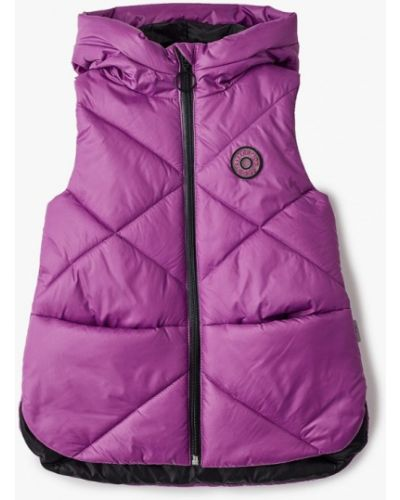 Теплый фиолетовый жилет Boom