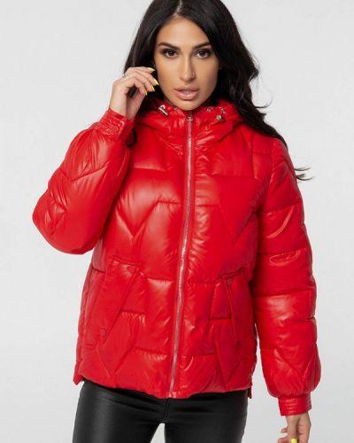 Теплая красная куртка Whitefox
