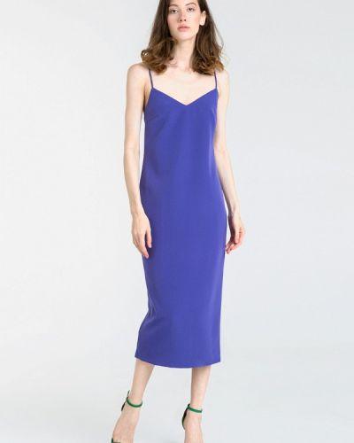 Платье осеннее фиолетовый Magnetic