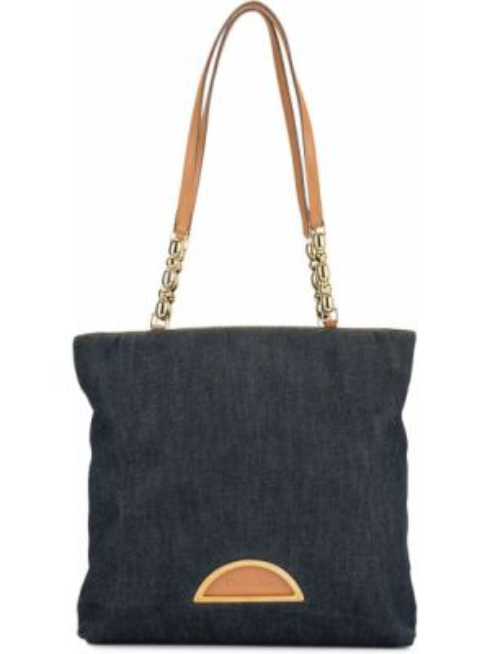 Кожаная сумка на цепочке сумка-тоут Christian Dior