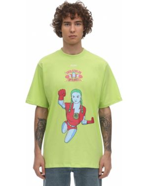 Zielony t-shirt bawełniany Klsh - Kids Love Stain Hands