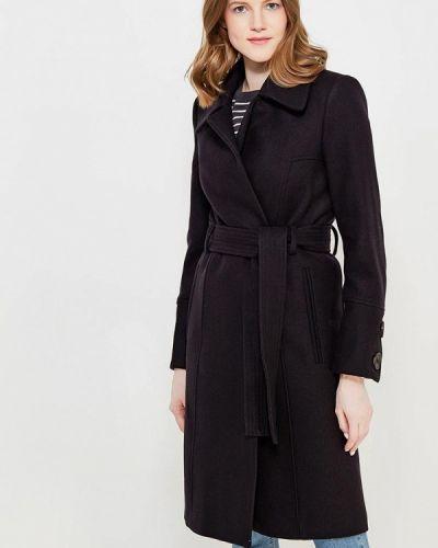 Черное пальто весеннее Mango