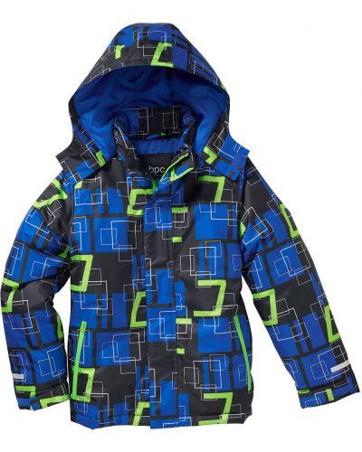 Куртка темная с манжетами Bonprix