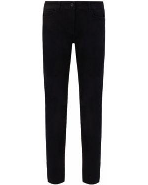 Хлопковые черные джинсы с карманами на пуговицах Ppep