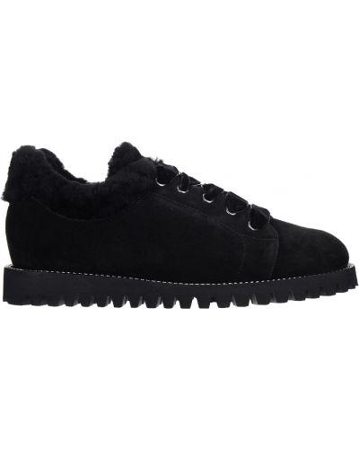 Туфли на платформе - черные Ballin