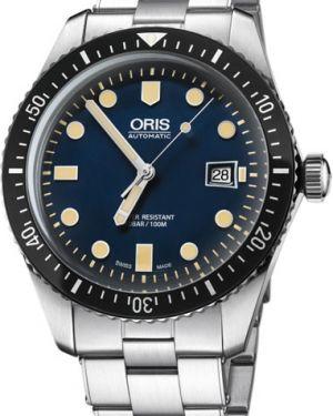 Часы механические водонепроницаемые с подсветкой Oris