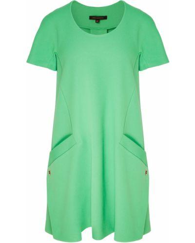 Зеленое платье мини Adolfo Dominguez
