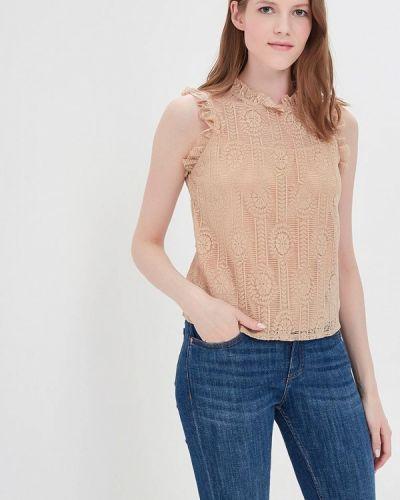 Бежевая блузка By Swan