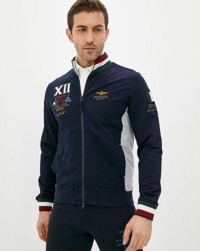 Синяя олимпийка Aeronautica Militare