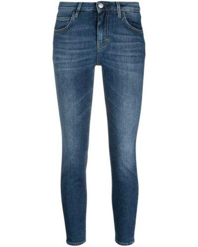 Niebieskie mom jeans Haikure