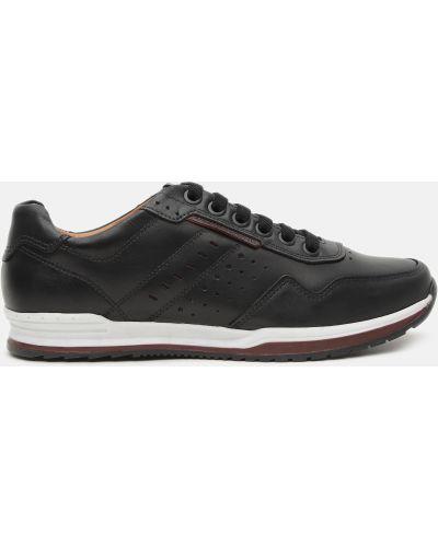 Кожаные кроссовки - коричневые Pegada