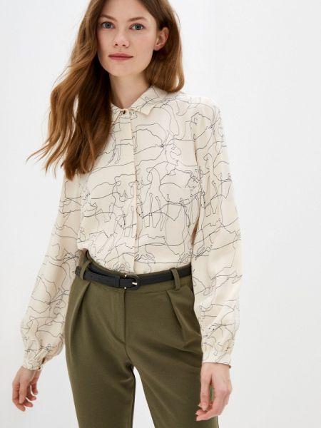 Бежевая блузка с длинным рукавом Antiga