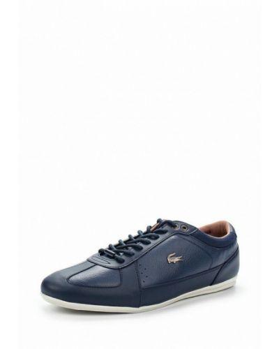 Синие кроссовки Lacoste