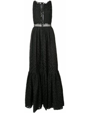 Вечернее платье черное Zac Zac Posen