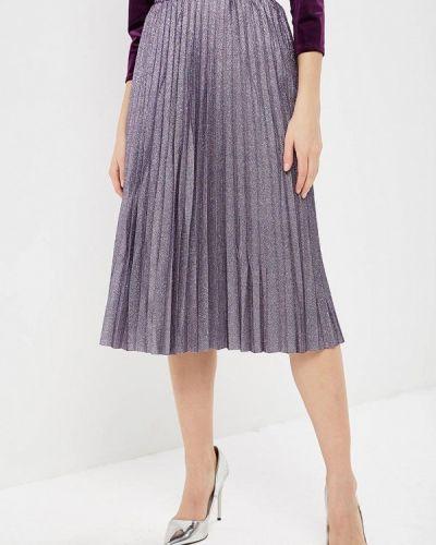 Плиссированная юбка фиолетовый Zarina