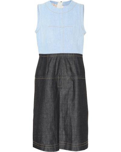 Джинсовое платье мини винтажная Marni
