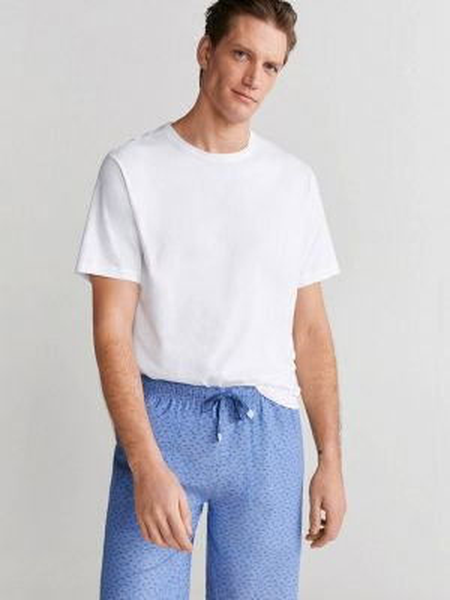 Синяя пижама Mango Man