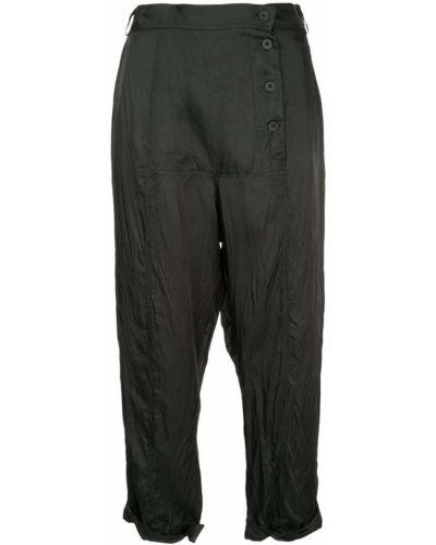 Укороченные брюки - черные Taylor