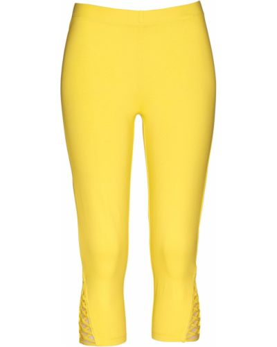 Желтые брюки Bonprix