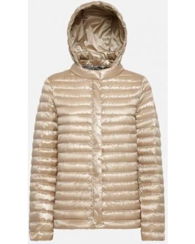Желтая водонепроницаемая куртка Geox