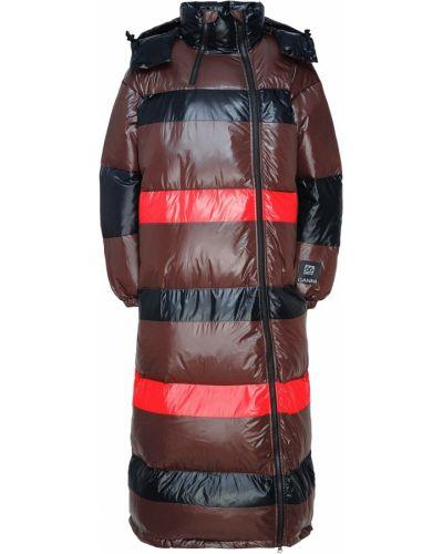 Пальто оверсайз на молнии Ganni