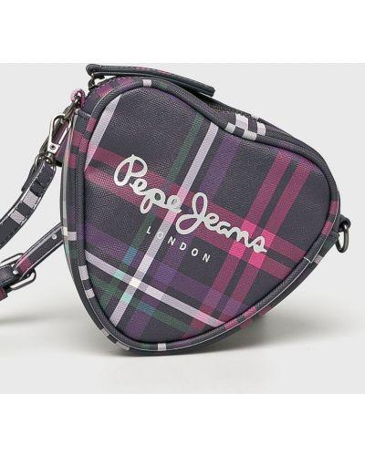 Рюкзак кожаный с поясом Pepe Jeans