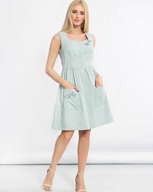 Летнее платье на пуговицах платье-сарафан Jetty