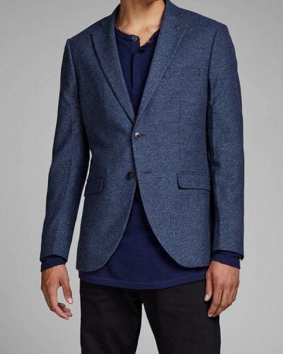 Синий пиджак Jack & Jones