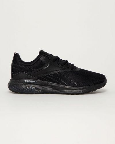 Czarne sneakersy sznurowane Reebok