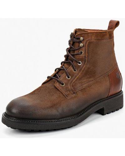 Ботинки осенние высокие замшевые Marc O'polo