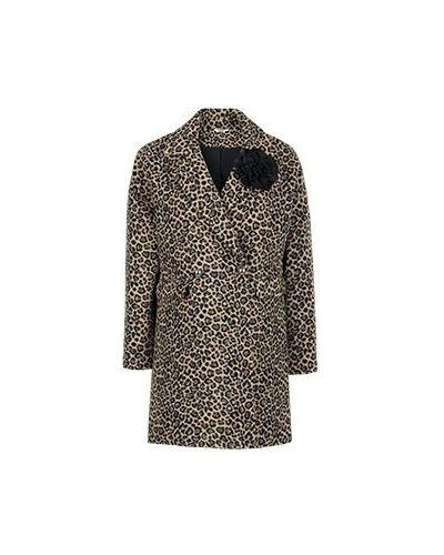 Пальто леопардовый пальто Liu Jo