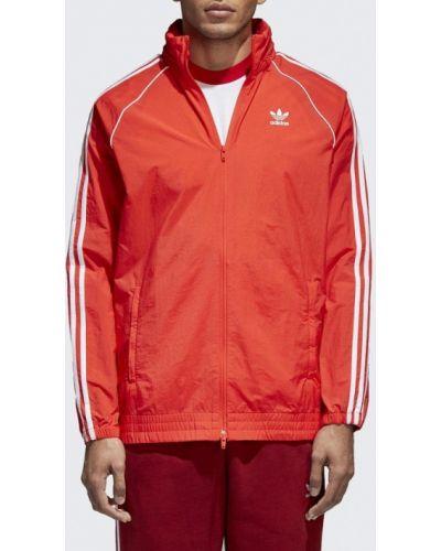 Красная ветровка Adidas Originals