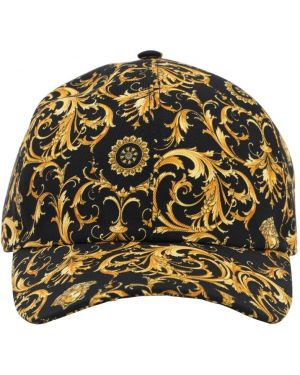 Kapelusz z logo Versace