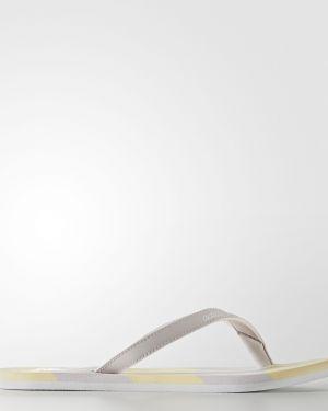 Сланцы пляжные белые Adidas
