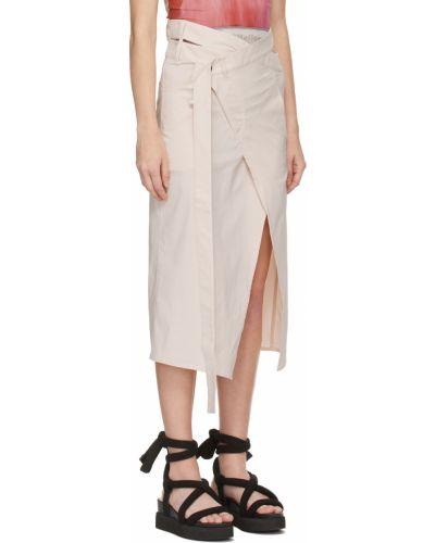 Biała spódnica z paskiem Ottolinger