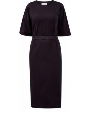 Платье с поясом футболка оверсайз Moncler